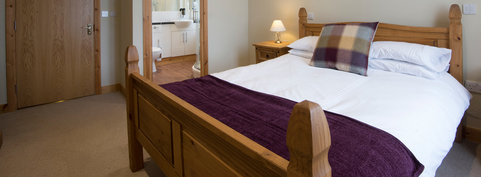 One of our spacious double rooms