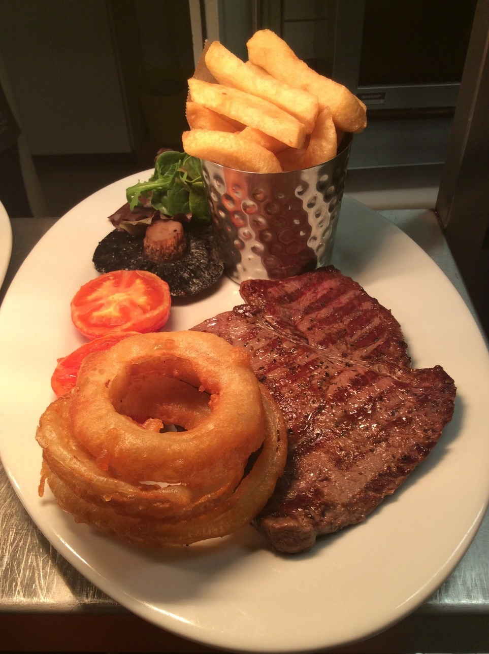 One of our delicious steak dishes