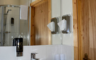 Typical ensuite shower room
