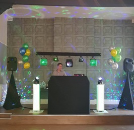 A disco in our function room